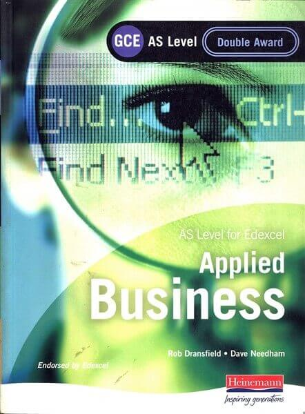 applied business as level coursework